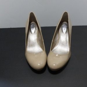 Alfani flex and step nude platform shoe